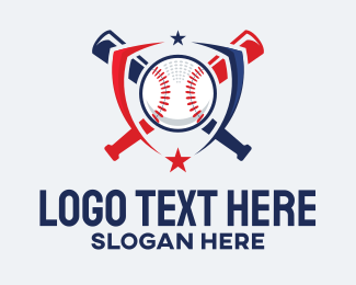 League - Baseball Club Emblem logo design
