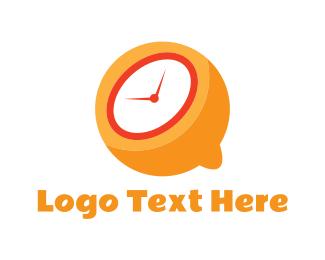 Clock - Lemon Time  logo design
