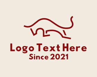 Running - Running Red Bull logo design