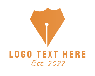 Education - Pen Shield logo design