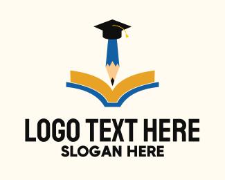 Review - Classroom Note Graduation logo design