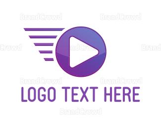Animation - Fast Media logo design