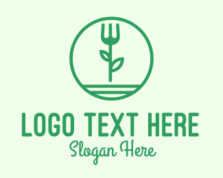 Organic Food - Herbal Organic Restaurant logo design