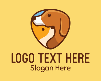 Doggy - Animal Pets logo design