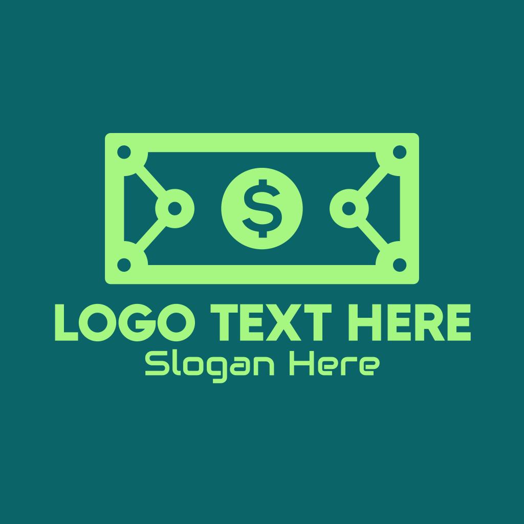 Digital Money Transfer Logo   BrandCrowd Logo Maker