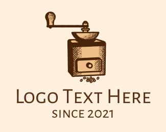 Classic - Classic Coffee Grinder logo design