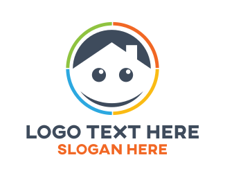 Smiling - Fun House logo design