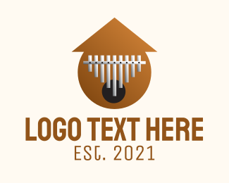 Instrument - Xylophone Musical Instrument  logo design