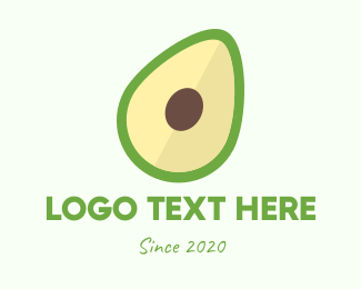 Nutrition - Fresh Avocado logo design