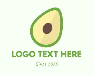 Fresh Fruit - Fresh Avocado logo design