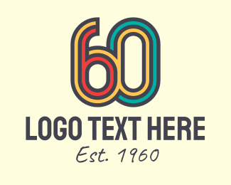 60s - Retro 60s logo design