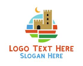 Holiday - Art Castle logo design