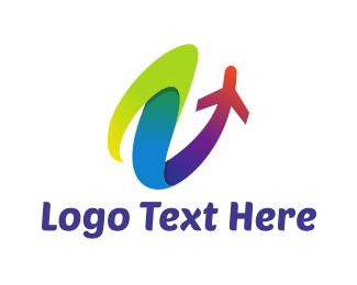 Launch - Colorful Launch logo design