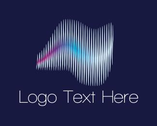 Symphony - Sound Waves logo design