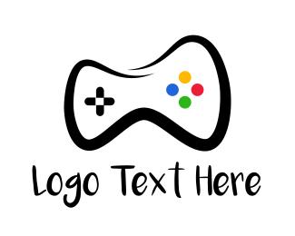 Sketch - Controller Drawing logo design