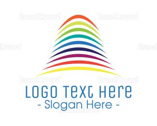 Multicolor - Multicolor Sound Waves  logo design