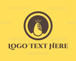 Circle - Corn Circle logo design