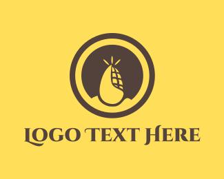 Vector - Corn Circle logo design