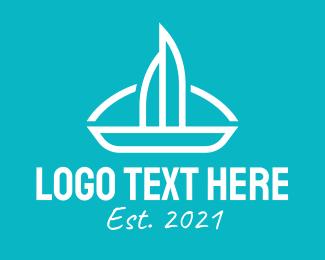Boat - Sail Boat logo design