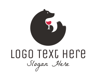 Brand - Bear Wine logo design