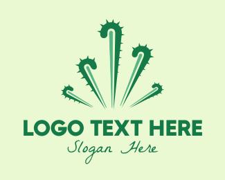 Arizona - Cactus Fireworks logo design