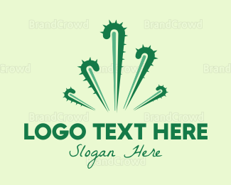 Cactus - Cactus Fireworks logo design