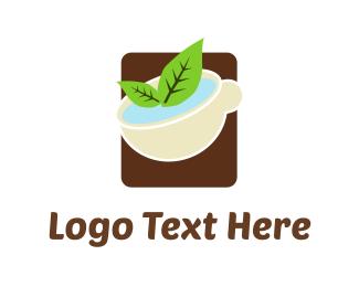 Soup - Green Tea logo design