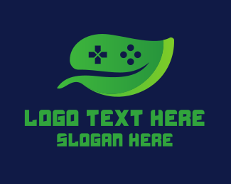 Video Game - Video Game Leaf logo design