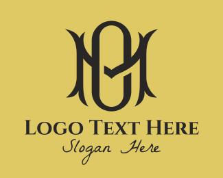Hospitality - Fancy M & O Monogram  logo design