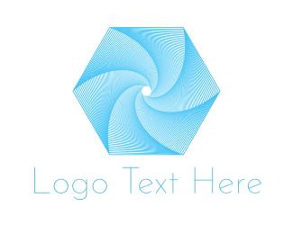 Tornado - Hexagonal Tornado logo design