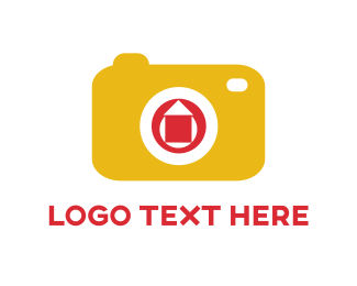 Image - Yellow Camera logo design