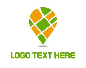 Deliver - Street Map logo design
