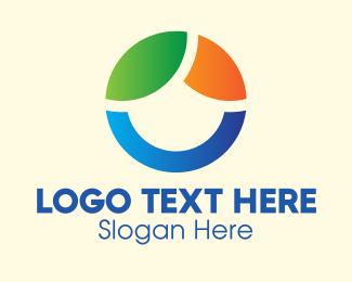 General - Modern Eco Circle logo design
