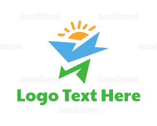 Energy - Modern Morning logo design