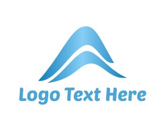 Tsunami - Blue Waves logo design