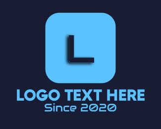 Techy - Techy Blue Lettermark logo design