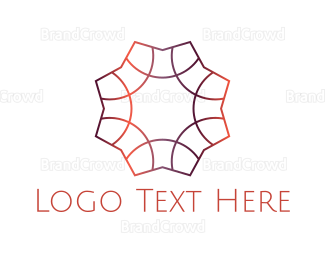 Cosmetic - Gradient Star logo design