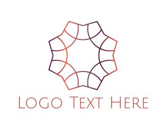 Star - Gradient Star logo design