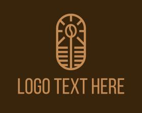 Coffee - Coffee Bean Cafe logo design
