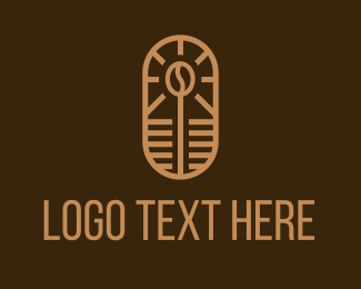 Minimalist - Minimalist Coffee Shop logo design