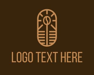 Espresso - Coffee Bean Cafe logo design