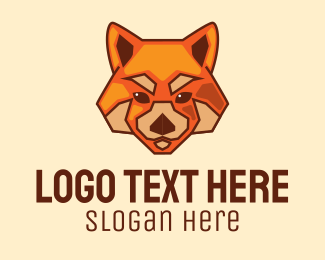 Wildlife Conservation - Red Fox Dog logo design