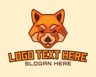 Varsity - Red Fox Dog logo design