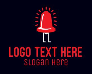 Feet - Bell Alarm Cartoon logo design