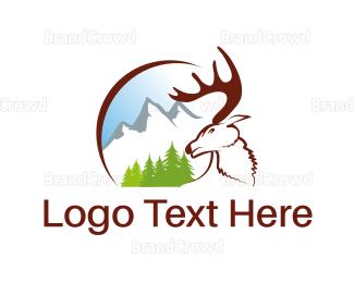 Aged Care - White Moose logo design