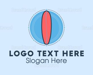 Board - Surfboards & Supplies logo design