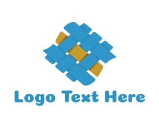 Handicraft - Fabric Texture logo design