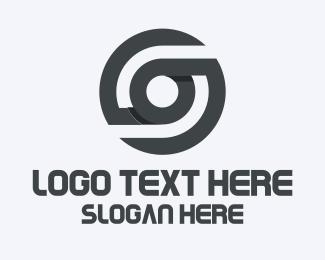 Blade - Modern Circle Blades logo design