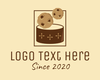 Can - Chocolate Chip Can logo design