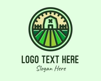 Farm - Eco Farm House logo design